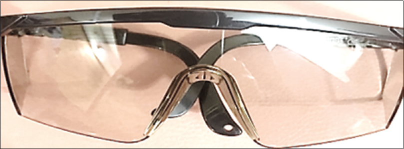 Figure 3: Transparent goggle